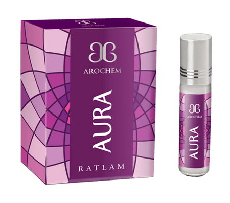 Arochem Aura 6ml Roll-On Attar Pocket Perfume