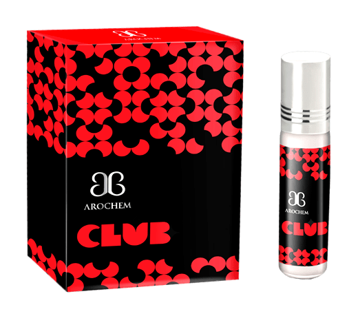 Arochem Club 6ml Roll-On Attar pocket perfume