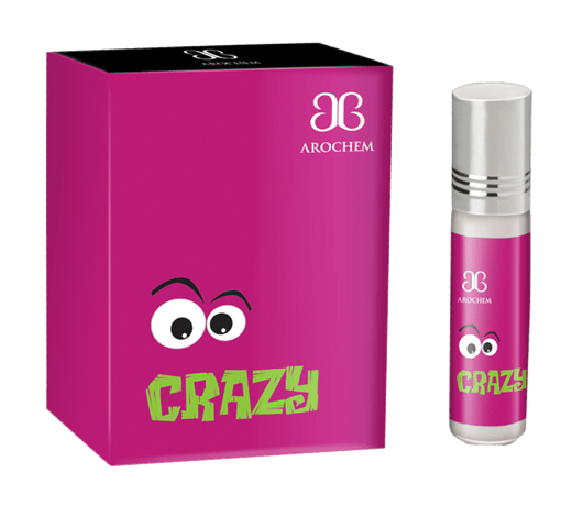 Arochem Crazy 6ml Roll-On Attar pocket perfume