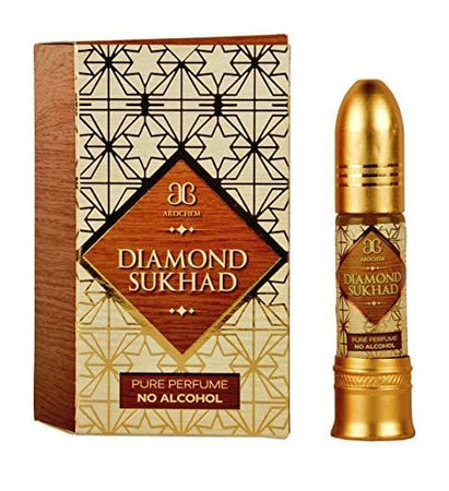 Arochem Diamond Sukhad 6ml Roll-On Attar pocket perfume