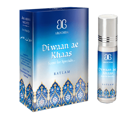 Arochem Diwaan Ae Khaas 6ml Roll-On Attar pocket perfume