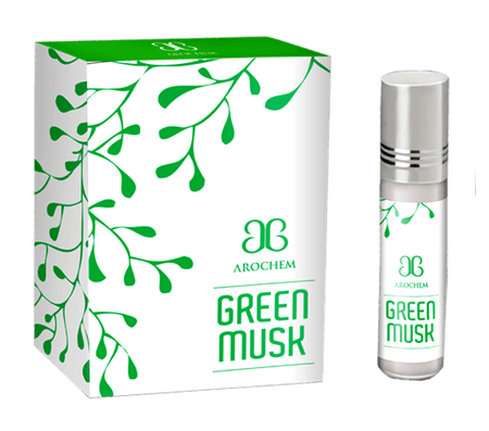 Arochem Green Musk 6ml Roll-On Attar pocket perfume