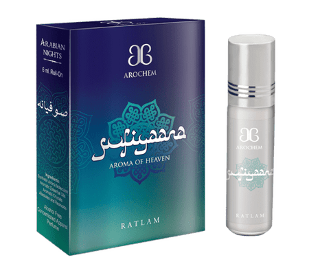 Arochem Sufiyaana 6ml Roll-On Attar pocket perfume