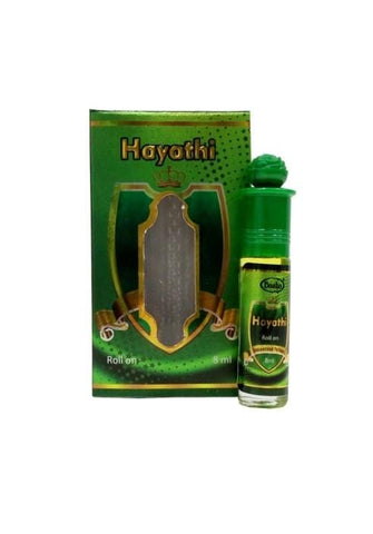 Basha Hayathi Attar 8ml Roll-On Attar Unisex Pocket Perfume