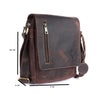 Pinato(PL-2718) Genuine  Leather Messenger Bag Brown for Women & Men