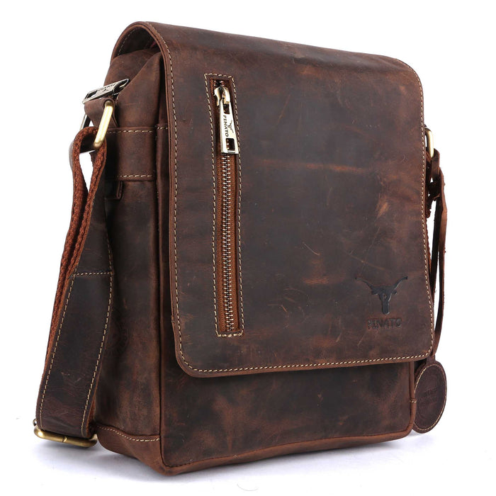 Pinato Genuine Leather Messenger Bag for Men & Women (PL-2718)