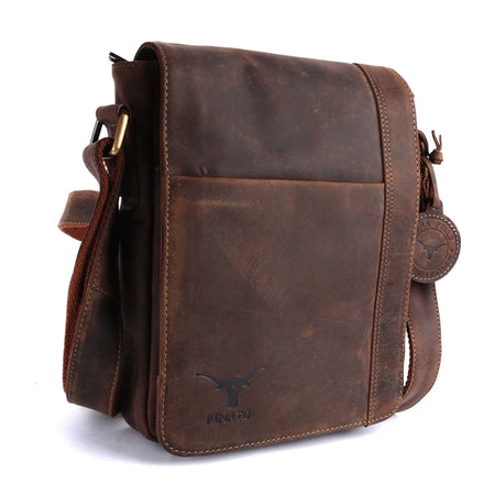 Pinato Genuine Leather Messenger Bag for Men & Women (PL-3117)