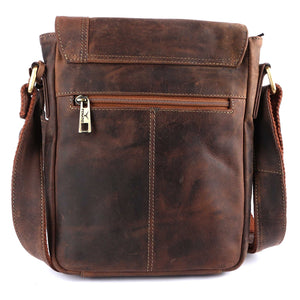 Pinato(PL-3117) Genuine Leather Messenger Bag for Men & Women