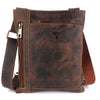 Pinato(PL-4418) Genuine Leather Camel Messenger Bag for Men & Women