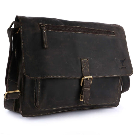 Pinato(PL-5018) Genuine Leather Briefcase Portfolio Bag for Women & Men