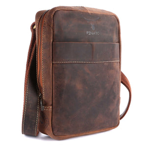 Pinato(PL-5618) Genuine Leather Messenger Bag for Men & Women