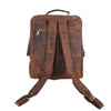 Pinato(PL-5918) Genuine Leather Cognac Backpack for Men & Women