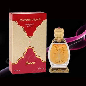Rasasi Mukhallat Al Oudh Attar 20ml Pack