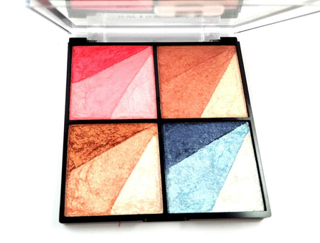 Swiss Beauty Highlighter, Bronzer, Eyeshadow and Blusher 4 In 1 Kit (SB-605-03)