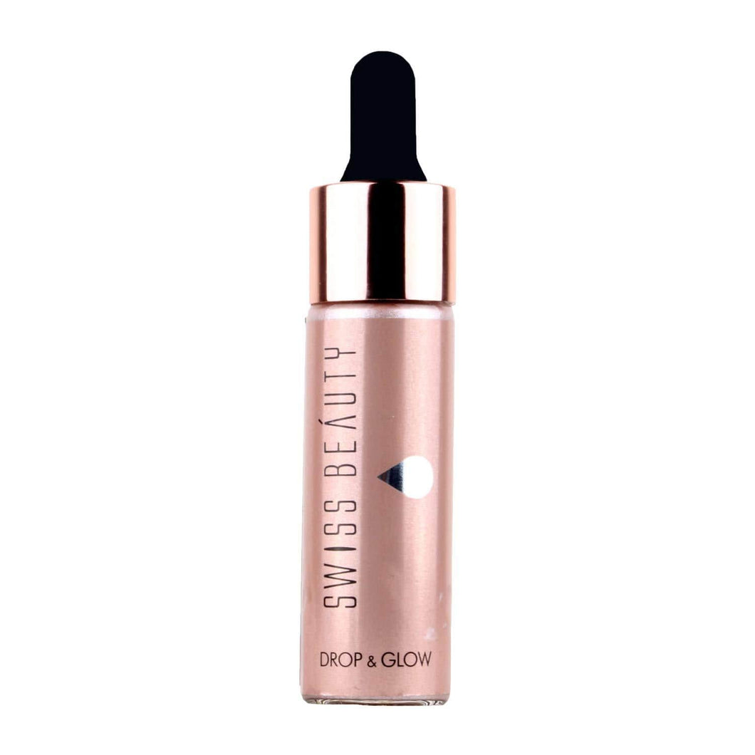 Swiss Beauty Liquid Highlighter Drop & Glow Light Pink Shade 01 (SB-810-01)