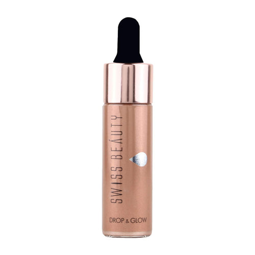 Swiss Beauty Liquid Highlighter Drop & Glow Light Brown Shade 04 (SB-810-04)