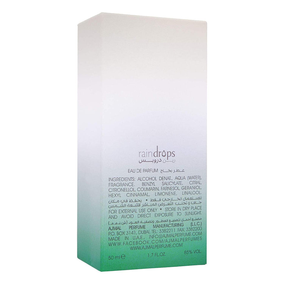 Ajmal Raindrops 50ml EDP Pack