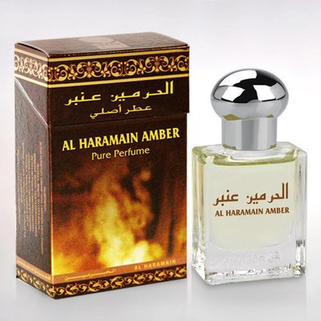 Al Haramain Amber Pure Perfume Attar 15ml Roll-On  Pack