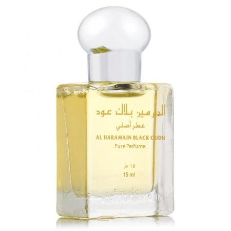 Al Haramain Black Oudh Pure Perfume Attar 15ml Bottle
