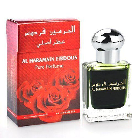 Al Haramain Firdous Pure Perfume Attar 15ml Pack