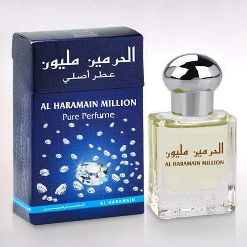 Al Haramain Million Pure Perfume Attar 15ml Pack