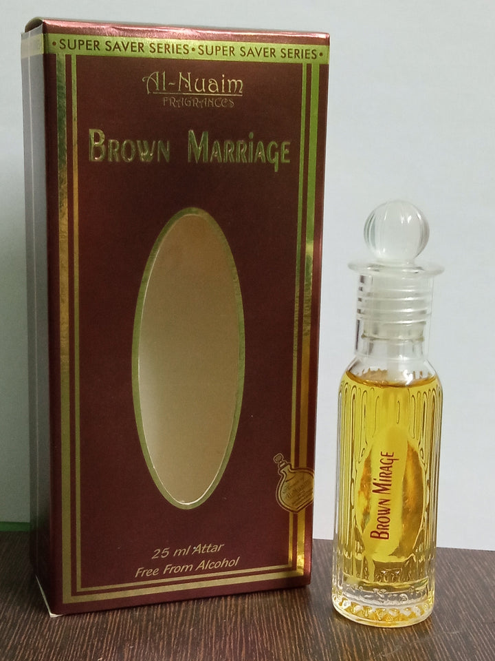 Al Nuaim Brown Marriage Attar 25ml