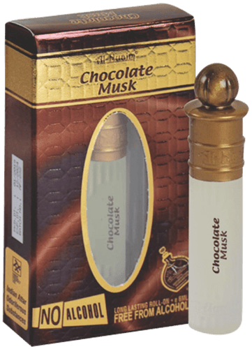 Al Nuaim Chocolate Musk Attar 6ml Roll On