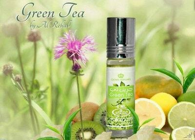 Al Rehab Green Tea Attar Roll On 6ml fragrance for women & men