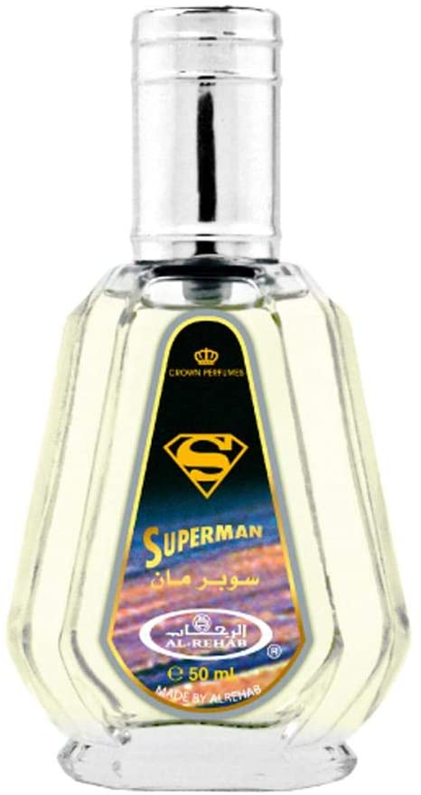 Al Rehab Superman Eau De Parfum Men 50ml