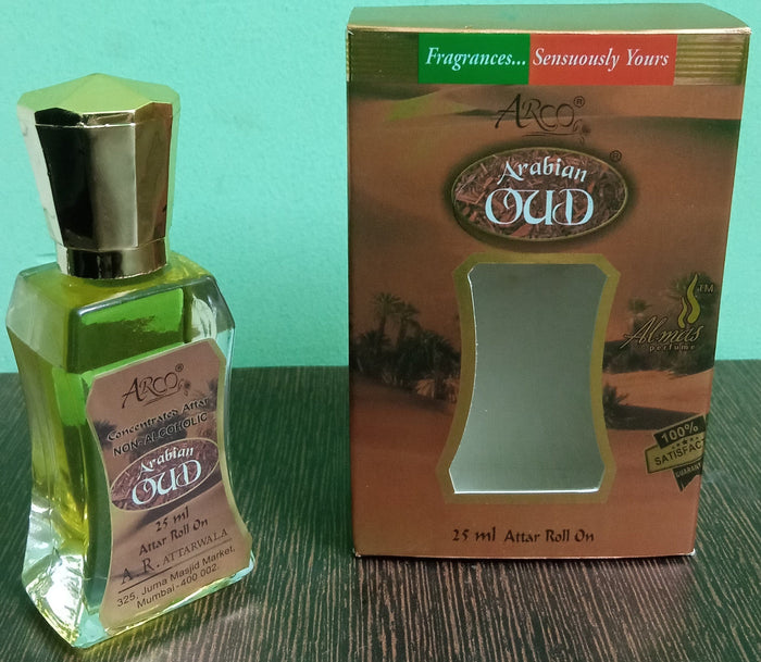 Almas Arabian Oud Attar 25ml