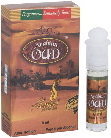 Almas Arabian Oud Attar 8ml