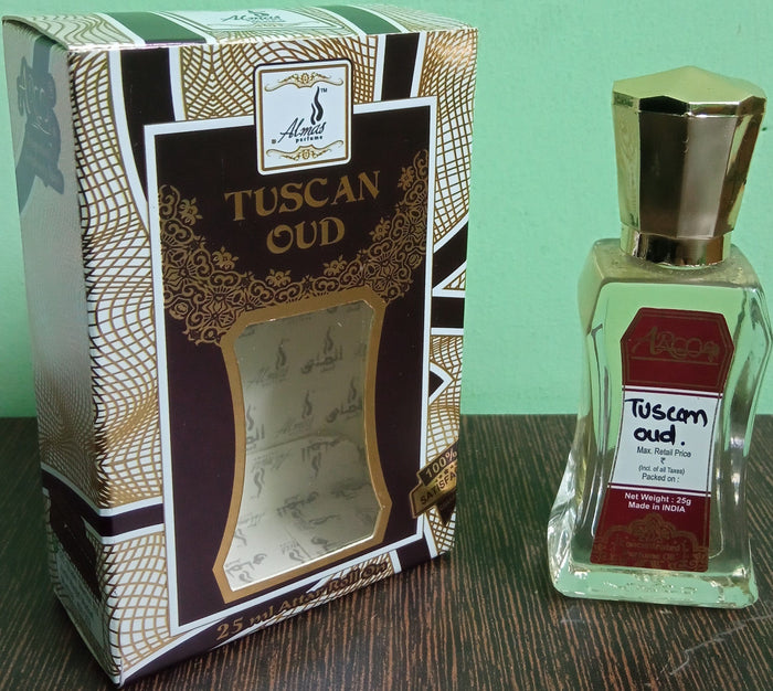 Almas Tuscan Oud Attar 25ml
