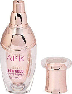 Buy Original APK 24K Gold Matte Oil Free Face Primer, Primers For Oily Skin