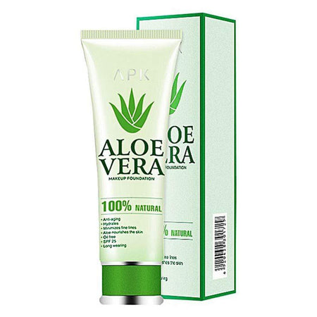 Buy Original APK Aloevera Makeup Foundation, Skin Color