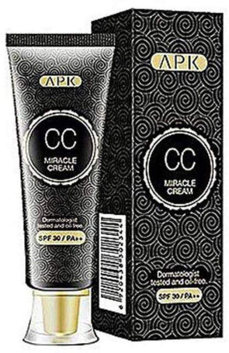 Buy Original APK CC Miracle, Oil Free Cream Foundation SPF 30 Dermatologist Tested