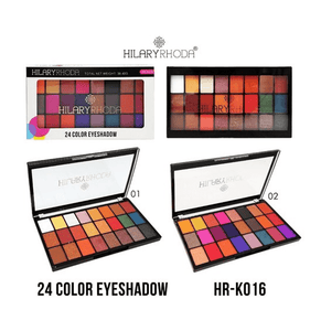 Buy Original Hilary Rhoda 24 Color Eyeshadow Palette HR-K016-01 Lowest Price Online In India, Cash On Delivery Available