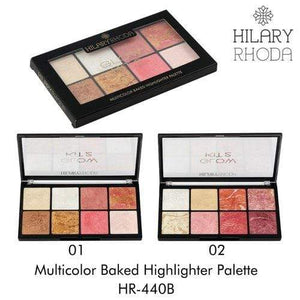 Buy Original Hilary Rhoda Multicolor Baked Highlighter Palette HR-440B-01 Low Price Online, Cash On Delivery Available