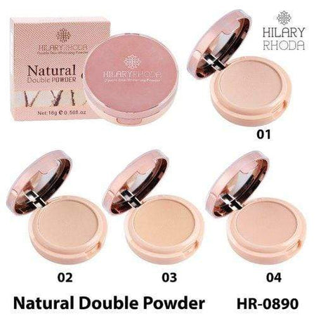 Buy Original Hilary Rhoda Natural Double Skin Whitening Powder HR-0890-04 With Vitamin B3, SPF 26, Low Price Online, Cash On Delivery Available