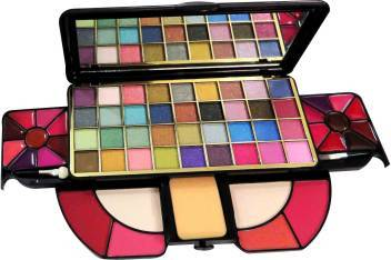 Buy Original Hilary Rhoda HR-1215 Professional Makeup Kit With 36 Eyeshadow, 18 Lip Gloss, 4 Blush, 2 Compact Face Powders, 2 Brush, Lowest Price Online In India
