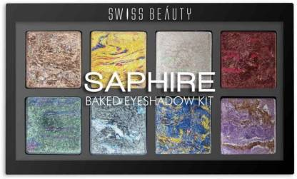 Swiss Beauty Baked Eyeshadow Palette Shade 02 (SB-716-02)