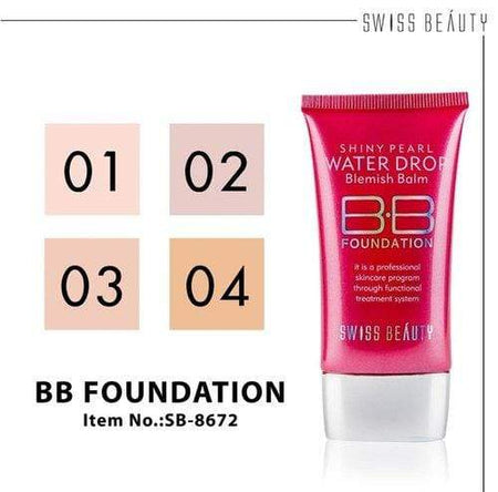 Buy Original Swiss Beauty SPF-15 BB Professional  Foundation SB-8672-01 Lowest Price Online In India, Cash On Delivery Available