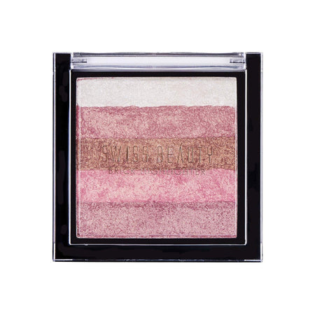 Swiss Beauty Blusher Brick Highlighter Shade 03 (SB-805-03)