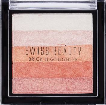 Swiss Beauty Blusher Brick Highlighter Shade 02 (SB-805-02)