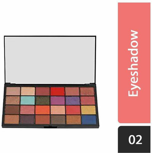 Swiss Beauty Professional Artist 24 Color Eyeshadow Palette, Eye MakeUp, Multicolor-02 (SB-724-02)