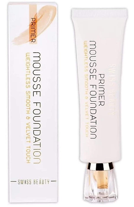 Swiss Beauty Primer Mousse Foundation (SB-505-03)