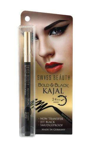 Buy Original Swiss Beauty Kajal Pencil-Black SB-EK12 Lowest Price Online, Cash On Delivery Available