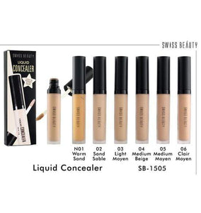 Swiss Beauty Liquid Concealer Light Moyen (SB-1505-03)