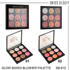 Buy Original Swiss Beauty Multicolor Glow Baked Blusher Palette SB-815-01 Lowest Price Online In India, Cash On Delivery Available