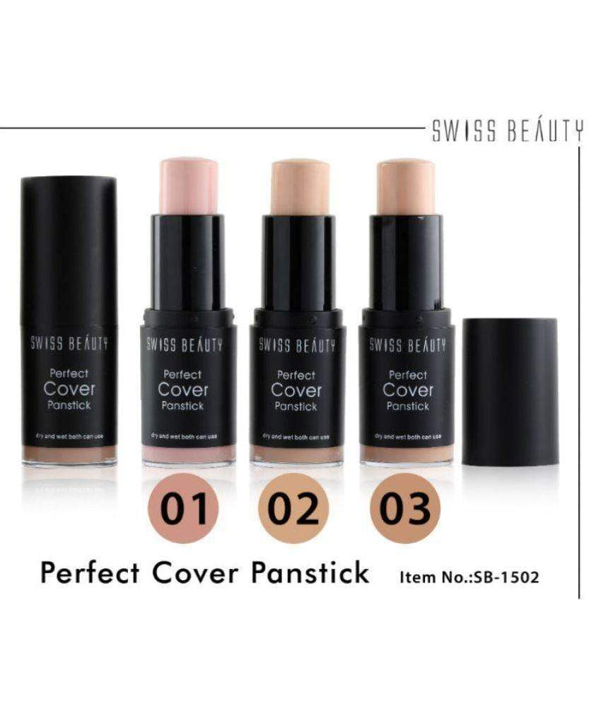 Buy Original Swiss Beauty Perfect Cover Panstick Concealer Honey Skin SB-1502-Shade-02 Low Price Online In India