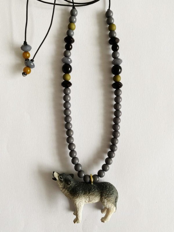 "BYMELO /Ketting ""Wes de Wolf"""